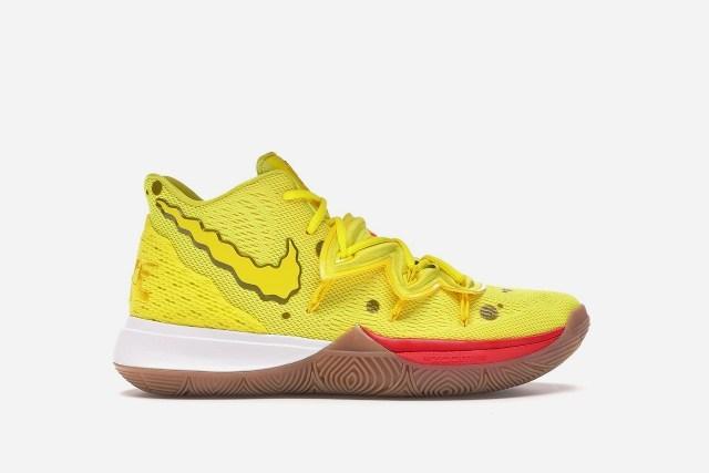 Nike lanza colección de tenis inspirados en Bob Esponja