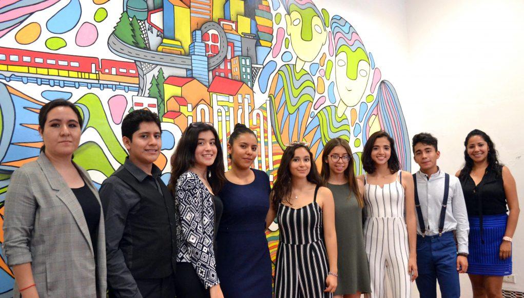 Estudiantes de la prepa 5 de Mayo participan en Modelo de la UNESCO