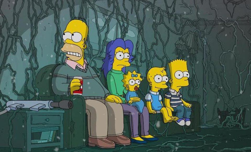 Los Simpson parodiarán a Stranger Things en su especial de Halloween