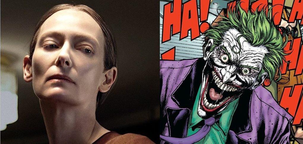 Proponen a Tilda Swinton como Joker para el Batman de Robert Pattinson