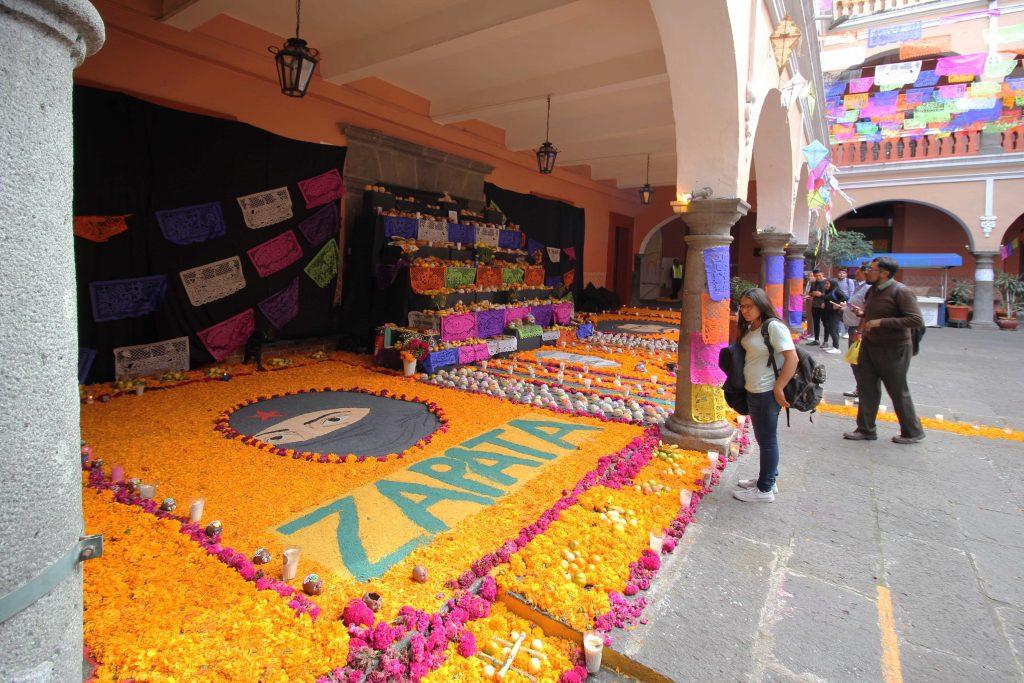 Día de Muertos, así se vive la tradición en la BUAP