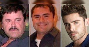 """Internet descubre al """"Chapo Efron"""", un joven igual a Zac Efron y el Chapo Guzmán"""