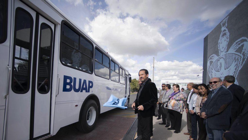 La BUAP fortalece su Sistema de Transporte Universitario