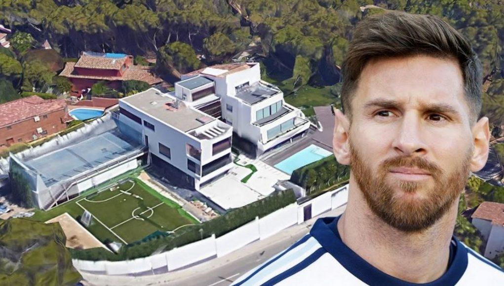 Por qué los aviones no pueden sobrevolar por la casa de Messi