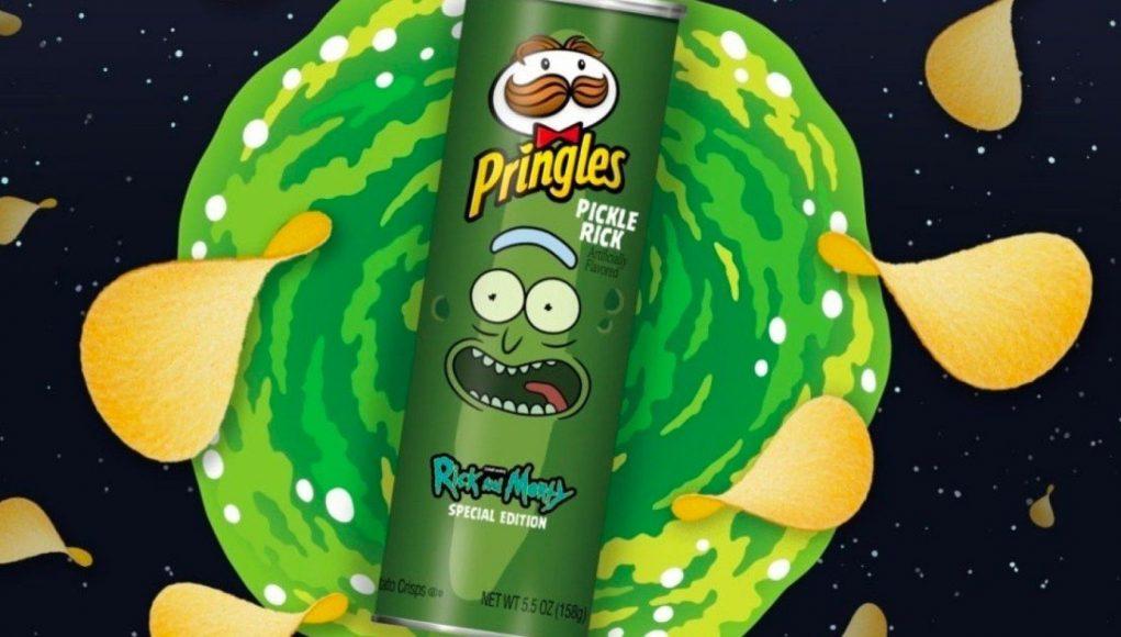 Pringles y Rick and Morty se unieron para crear un nuevo sabor de papas