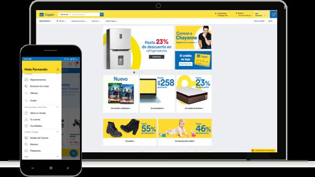 Coppel ya realiza préstamos personales que puedes pedir desde tu celular