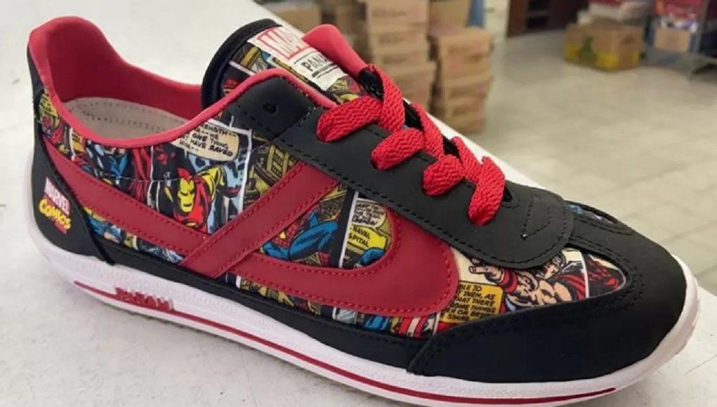 ¡Los héroes a tus pies! Panam y Marvel lanzan línea de tenis