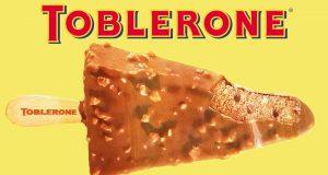 No podrás esperar a probar las paletas heladas de Toblerone