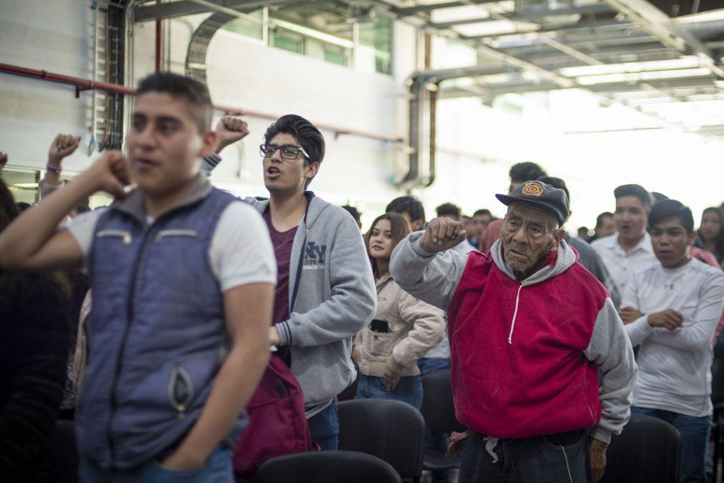 Hoy levantamos la voz en aras de la paz: Rector Alfonso Esparza Ortiz