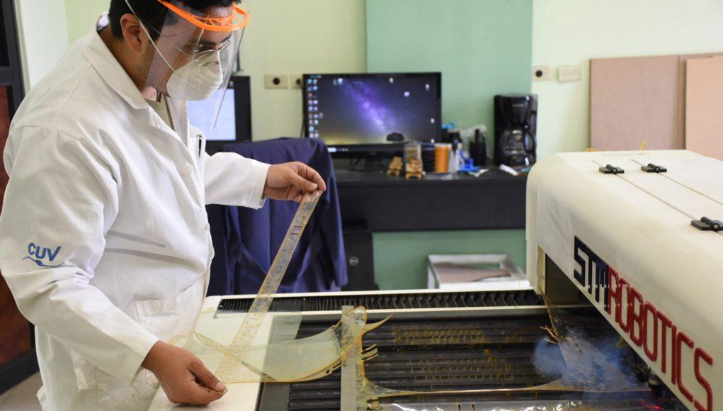 Inicia BUAP fabricación de mascarillas protectoras