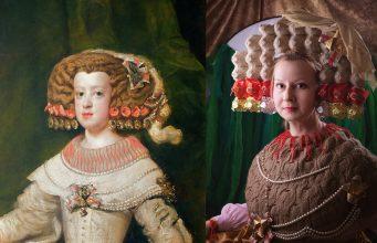 Rusos recrean obras de arte para matar el aburrimiento de la cuarentena