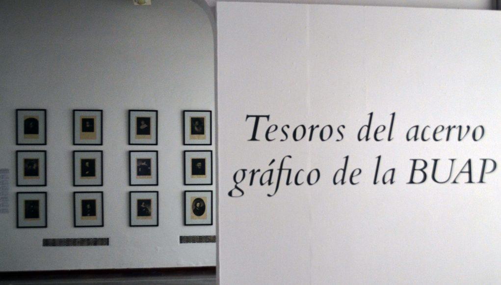 """Inauguran exposición """"Tesoros del acervo gráfico de la BUAP"""""""