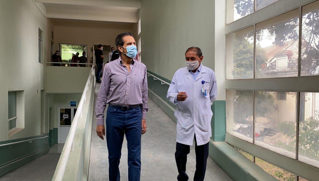 Acondiciona BUAP nueva área del HUP para atender enfermedades respiratorias